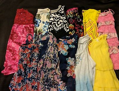 Girls Justice Size 18 Spring And Summer Clothing Lot