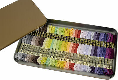 DMC Embroidery Floss Tin 8.7yd 35/Pkg-New Colors