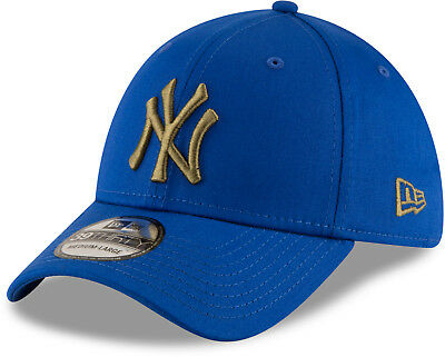 Ny Yankees New Era 3930 League Essential Blu Cappello da Baseball  Elasticizzato e944b375ec5d