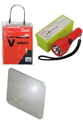 Boat Safety Kit Torch Signal Mirror V Sheet Package Marine Safety Kit