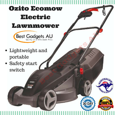 OZITO™ 1000W Ecomow Electric Lawn Mower Lawnmower Grass Catcher 3YR Warranty