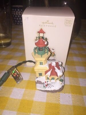 2007 Hallmark Keepsake Ornament LIGHTHOUSE GREETINGS #11 IN SERIES NEW!