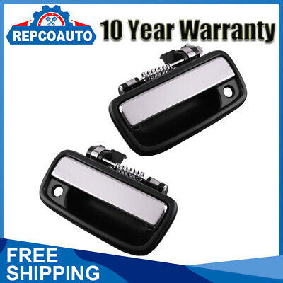 Outside Exterior Door Handle Pair Left & Right for 1995-2004 Tacoma Toyota