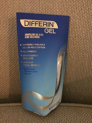 New Differin Gel Adapalene Gel 0.1% Acne Treatment, 0.5oz. Uk 🇬🇧 Seller.