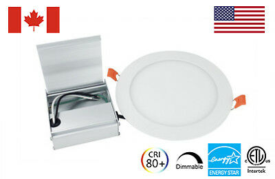 "Dimmable 3""/4""/6"" Epistar LED Recessed Panel Light (ETL - Energy Star Certified)"