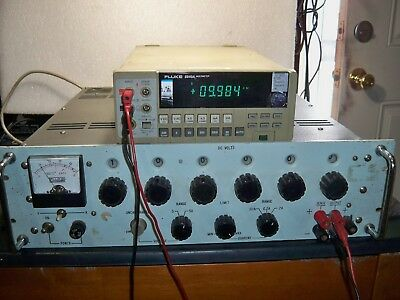 Fluke 313A Voltage Calibrator 6 Channel