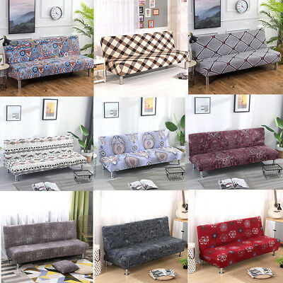 Tremendous Floral All Inclusive Sofa Cover Solid Folding Armless Bralicious Painted Fabric Chair Ideas Braliciousco