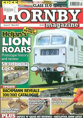 4 x Hornby Magazines, May - Aug 2011 Issue 47 - 50