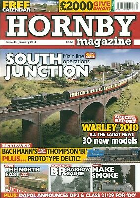 4 x Hornby Magazines, Jan - April 2011 Issue46 - 46