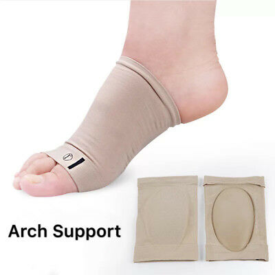 ARCH Support Flat Feet Shoe CusionGEL Orthotic Pad Plantar Fasciitis PAIN RELIEF