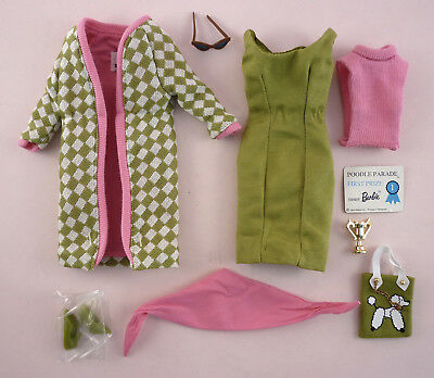 Poodle Parade Barbie - Complete Outfit Only - Nostalgic Reproduction/repro- Mint