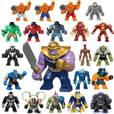 Avengers Infinity War 3 Building Blocks Action Figures Thanos Hulk Collect Toy