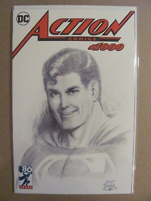 Action Comics #1000 DC Comics DF Curt Swan Exclusive Cover w COA Limited to 4000