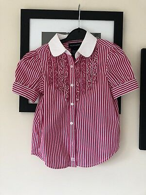 Girls Ralph Lauren Short Sleeve Blouse/shirt Age 4