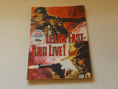 WAR PICTURE LIBRARY NO 67!,dated 1987!,V GOOD for age,great 31!YEAR OLD issue.