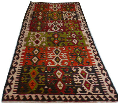 kilim Turc Traditionnel Oriental hand made  292 cm x 148 cm  N° 199