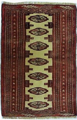 Tapis Persan Traditionnel Oriental hand made 59 cm x89 cm  N° 73