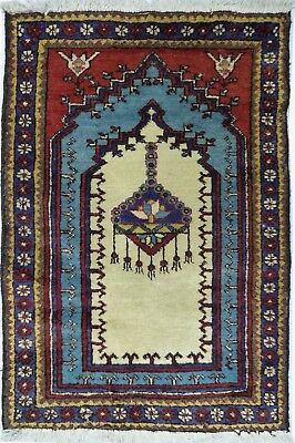 Tapis Persan Traditionnel Oriental hand made 102 cm x65 cm  N° 80