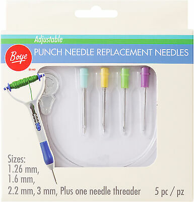 Boye Punch Needle Replacement-Set Of 4 - 3 Pack
