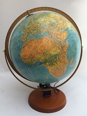 Large Scanglobe World Globe Light