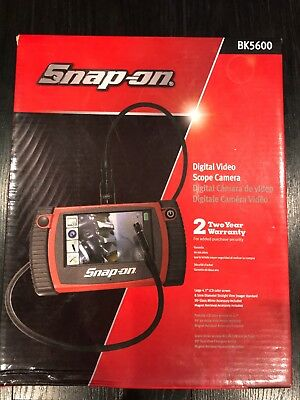 New Snap-On BK5600  Scope with Dual 8.5 mm Imager snap on Free Priority Mail