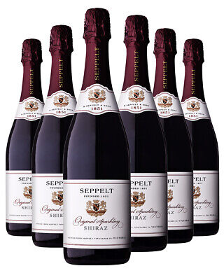 Seppelt Original Sparkling Shiraz x 6 750ml