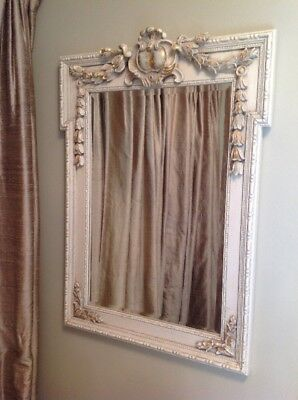Reproduction Carved Mirror Rectangle 78cm -56cm