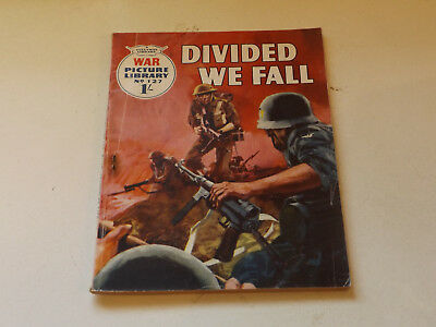 WAR PICTURE LIBRARY NO 127!,dated 1961!,GOOD for age,great 57!YEAR OLD issue.