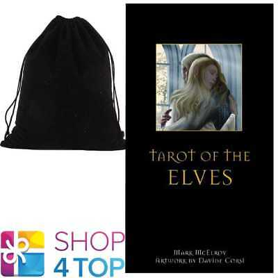 Tarot Of The Elves Deck Cards Esoteric Telling Lo Scarabeo With Velvet Bag New