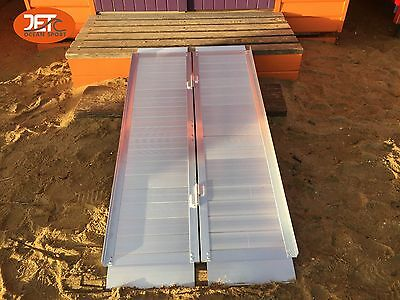 Portable Aluminium Folding Loading Wheelchair Ramps-5FT-JET06-5