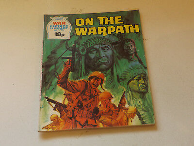 WAR PICTURE LIBRARY NO 1745!,dated 1980!,V GOOD for age,great 38!YEAR OLD issue.