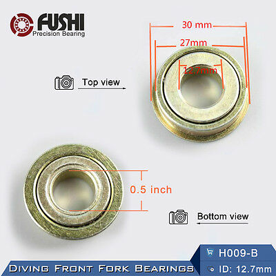 Diving Front Fork Bearing 0.5 inch (2 PC) 12.7*27*30mm Wheelchair Bowl Bearings