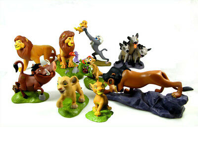 9PCS Set The Lion King Simba Guard Action Figure Model Doll Toy Cake Topper Gift
