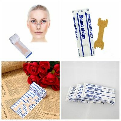 New 100pcs Better Breath Nasal Strips Large Right Way to Stop Snore