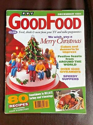 Vintage, BBC Good Food Magazine, December 1991, Christmas