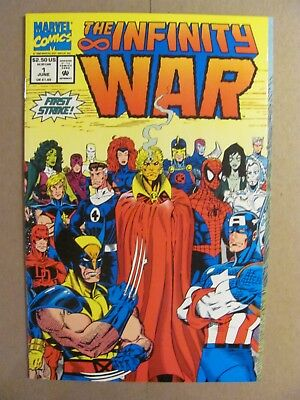 Infinity War #1 #2 #3 #4 #5 #6 Complete Marvel 1992 Series Thanos Starlin 9.4 NM