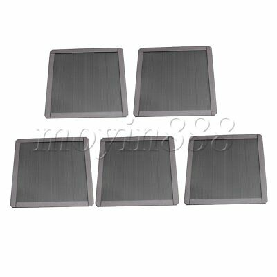 5Pcs PC Computer Magnetic Fine Fan Filter Mesh Strainer 140mm in Length