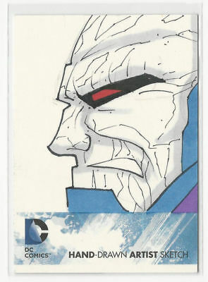 2012 Cryptozoic DC Comics New 52 Sketch Card DARKSEID by Unknown Artist 1/1