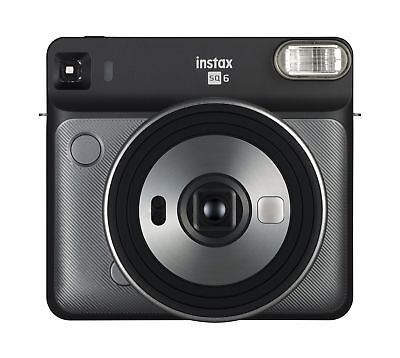 Instax Square SQ6 - Instant Film Camera - Graphite Grey Graphite Gray Base