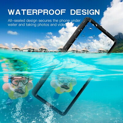 360° Waterproof Soft Rubber Shockproof Case Cover For Samsung Galaxy S9 Plus S9