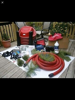 Rotobrush Air Duct Cleaning System, 10 Brushes B&G Fogger 3 cable brushes nice