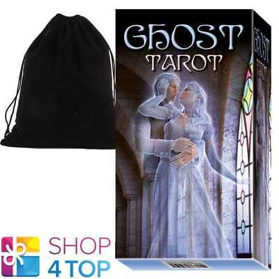 Ghost Tarot Cards Deck Corsi Esoteric Telling Lo Scarabeo With Velvet Bag New