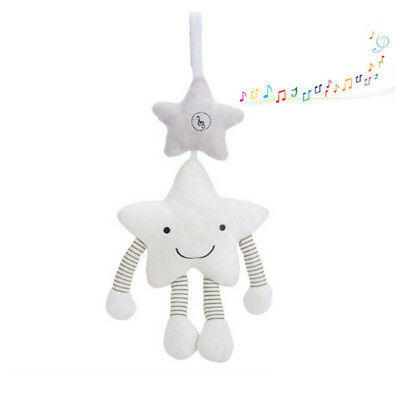 Baby Rattles Toy Animal Infant Soft Bed Hanging Toys Bell Plush Stroller Doll N7