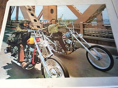 Retro Poster.easy Rider Movie.jack Nicholson.dennis Hopper.peter Fonda.1960S
