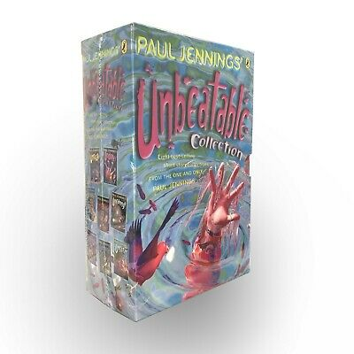 New Paul Jennings Unbearable Collection 8 Bestselling Short Stories Gift Box Set