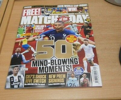 Match of the Day magazine #514 2018 Souvenir World Cup Issue MindBlowing Moments