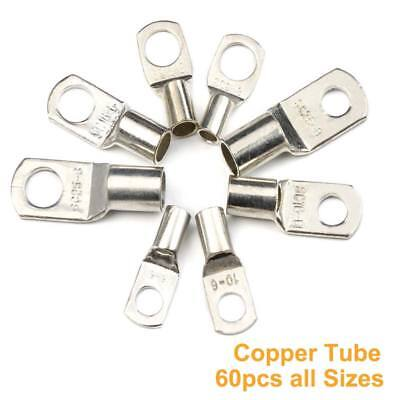Copper Tube Terminals Terminal Battery Welding Cable Lug Ring Crimp All Sizes UK
