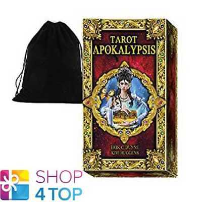 Dunne Apokalypsis Tarot Deck Cards Lo Scarabeo Esoteric With Velvet Bag New