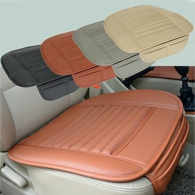 PU Cuir Voiture Auto Siège Chaise Couverture Housse Pad Coussin Tapis Protect FR
