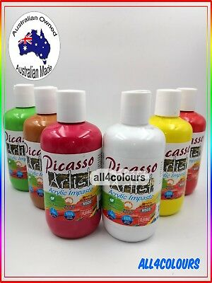 For Artist Premium Picasso Artist Acrylic Impasto Paint Radical Paint OZ Made
